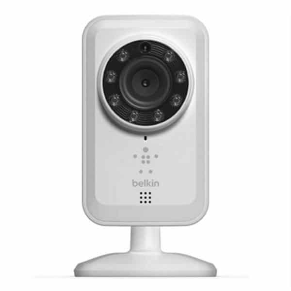 Belkin Networking IP Cam, Wi-Fi, Night Vision, F7D7601 كاميرا مراقبة
